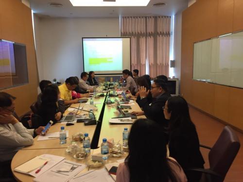 ประชุมผู้อำนวยการกอง และสำนักงานสภามหาวิทยาลัย