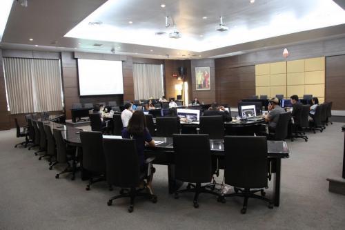 ประชุมผู้อำนวยการกองและสำนักงานสภามหาวิทยาลัย 19 มีนาคม 2564